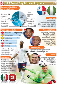 SOCCER: World Cup facts and figures infographic