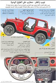 سيارات: جيب رانغلر الجديد infographic