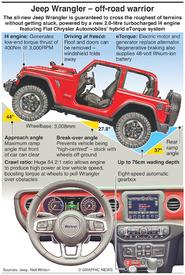MOTORING: Jeep Wrangler infographic