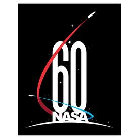 LOGO: NASA 60th anniversary infographic