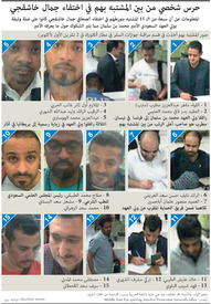 السعودية: حرس شخصي من بين المشتبه بهم في اختفاء جمال خاشقجي infographic
