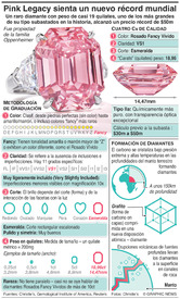 NEGOCIOS: El diamante Pink Legacy sienta récord en subasta (1) infographic