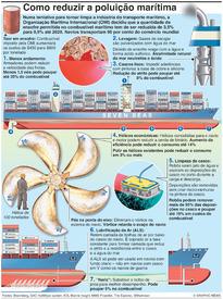 AMBIENTE: Como reduzir a poluição marítima infographic