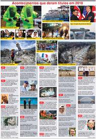FIM DE ANO: O ano 2018 em revista infographic