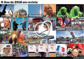 FIM DE ANO: Revista do Ano 2018 interactivo infographic