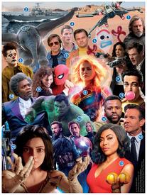 نهاية السنة: أفلام جديدة لعام ٢٠١٩ infographic