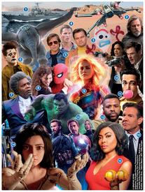 FIN DE AÑO: Estrenos de filmes en 2019 infographic