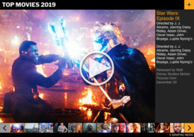 YEAR END: Film releases in 2019 interactive (1) infographic