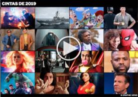 FIN DE AÑO: Estrenos de cintas en 2019 Interactivo (1) infographic