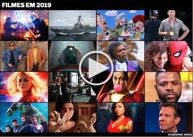 FIM DE ANO: Estreias de filmes em 2019 interactivo infographic