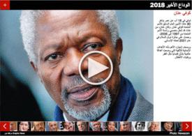 نهاية السنة: الوداع الأخير ٢٠١٨ infographic