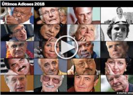 FIN DE AÑO: Últimos Adioses 2018 infographic