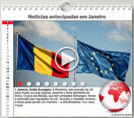 AGENDA MUNDIAL: Janeiro 2019 interactivo infographic