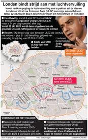 TRANSPORT: Londen bindt strijd aan met luchtvervuiling infographic