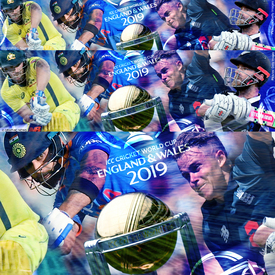 Cricket World Cup 2019 banner infographic