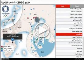 طوكيو ٢٠٢٠: طوكيو ٢٠٢٠ - ملاعب الألعاب الأولمبية (1) infographic