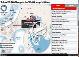TOKIO 2020: Olympische Wettkampfstätten interaktiv (1) infographic