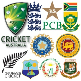 Cricket World Cup 2019 team crests infographic