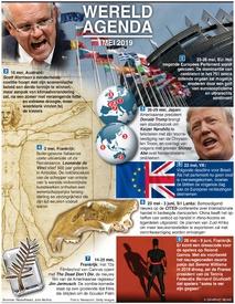 WERELDAGENDA: Mei 2019 infographic