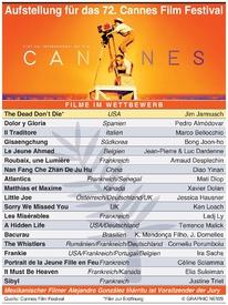 FILME: Cannes Film Festival 2019 infographic