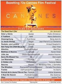 FILM: Film Festival Cannes 2019 infographic
