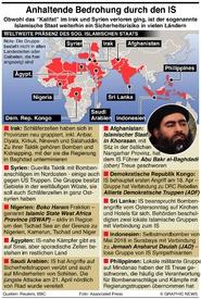 TERRORISMUS: IS Gefahr bleibt bestehen infographic