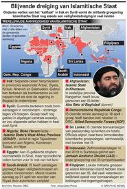 TERRORISME: Blijvende dreiging Islamitische Staat infographic