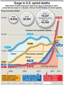 HEALTH: U.S. opioid crisis infographic