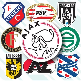 SOCCER: Dutch Eredivisie crests 2019-20 infographic