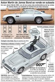 AUTOMÓVILES: El Aston Martin DB5 de James Bond se subasta (1) infographic