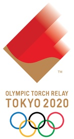 TOKYO 2020: Olympic Torch Relay emblem infographic