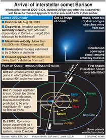 SCIENCE: Interstellar comet Borisov infographic