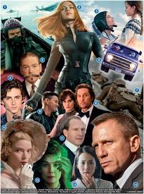 FIN DE AÑO: Filmes para 2020 (1) infographic