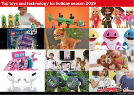 YEAR END: Top toys and tech for 2019 interactive (1) infographic