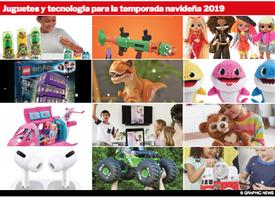 FIN DE AÑO: Juguetes y tecnología para 2019 infographic