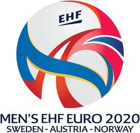 HANDBALL: EHF European Men's Championships 2020 logo  infographic
