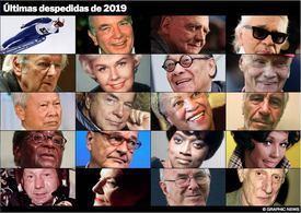 FIM DE ANO: Últimas despedidas 2019 infographic