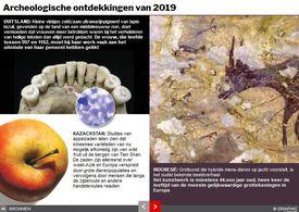EINDE-JAAR: Archeologische vondsten van 2019 interactive infographic