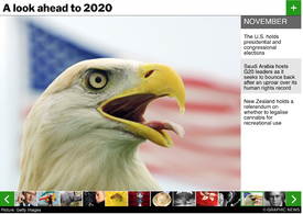 YEAR END: Preview 2020 interactive infographic
