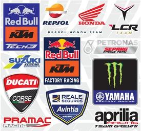 MOTOGP: Team logos 2020 infographic