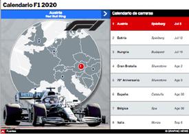 F1: Calendario del Campeonato Mundial 2020 Interactivo (2) infographic