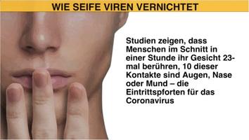 GESUNDHEIT: Virus-tötende Seife infographic