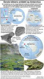 WETENSCHAP: Eerste kikkers op Antarctica ontdekt infographic