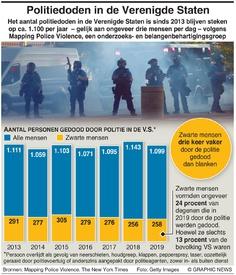 MISDAAD: Politiedoden in de Verenigde Staten infographic