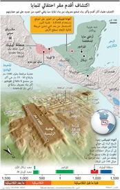 آثار: اكتشاف أقدم مقر احتفالي للمايا infographic