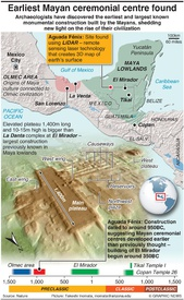 ARCHAEOLOGY: Earliest Mayan ceremonial centre discovered infographic