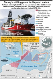 ENERGY: Turkey-Greece drilling dispute infographic