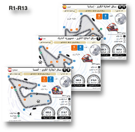موتو جي بي - سباق الجائزة الكبرى ٢٠٢٠ infographic