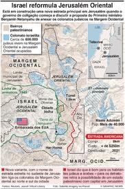 ISRAEL: A Estrada Americana infographic