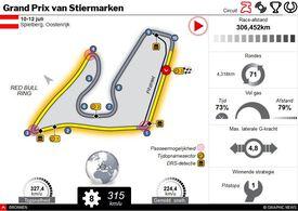 F1: GP van Stiermarken 2020 interactive infographic